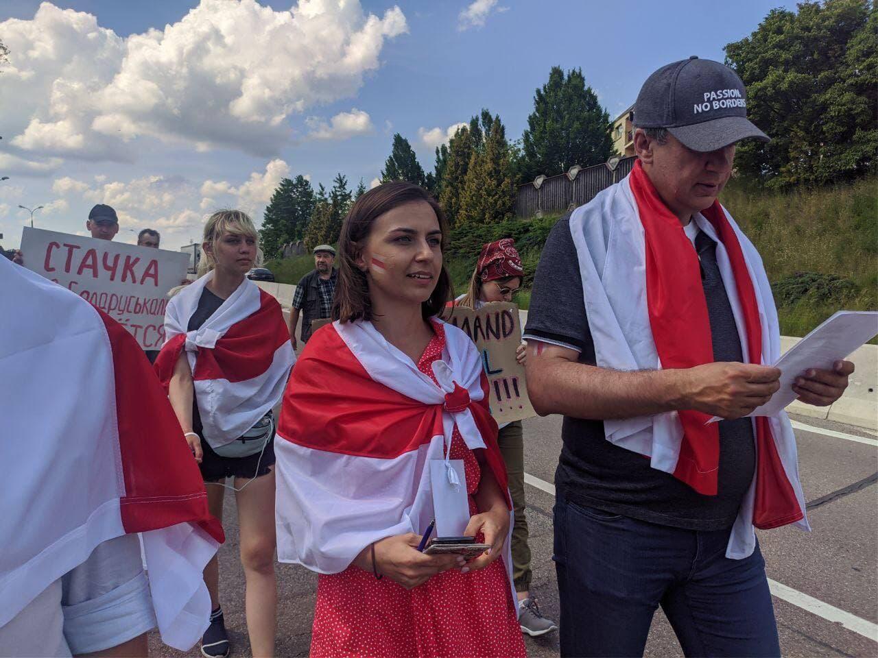 Павел Латушко и Елена Живоглод