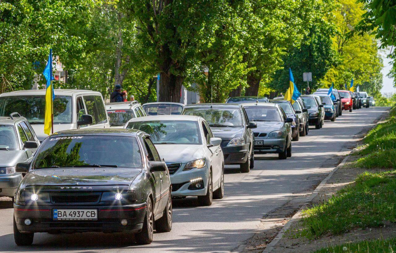 Активисты Партии Шария организовали и провели  автопробег - фото