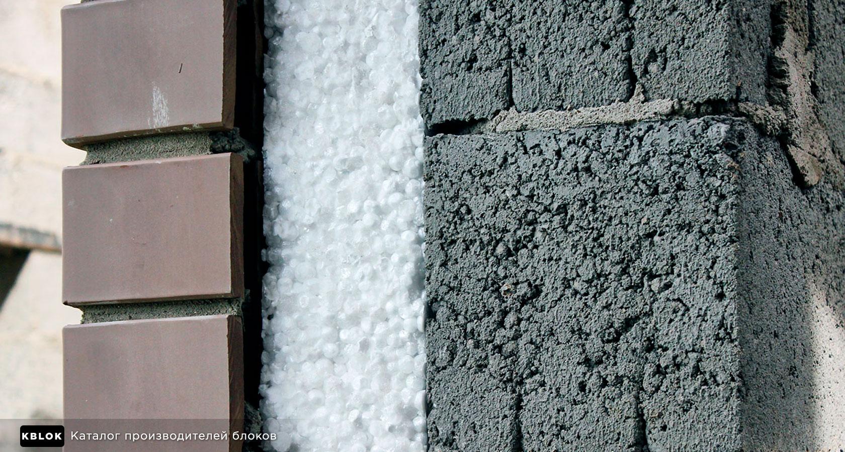 Теплопроводность стены из керамзитобетона бетон романа
