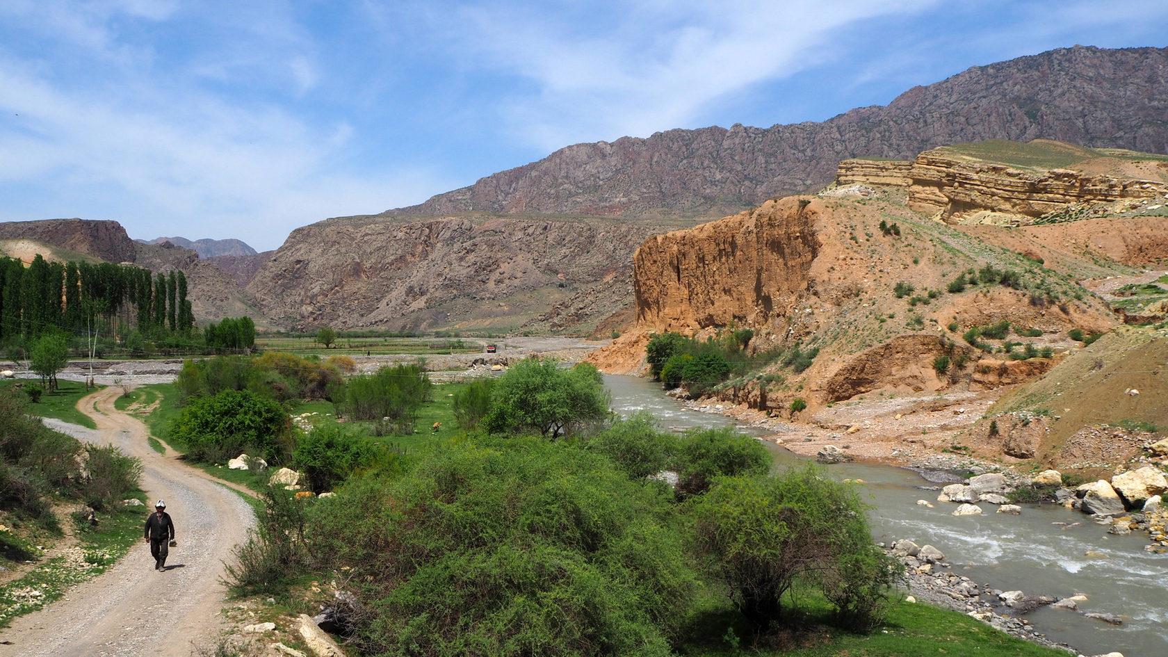 река в Баткенской оласти