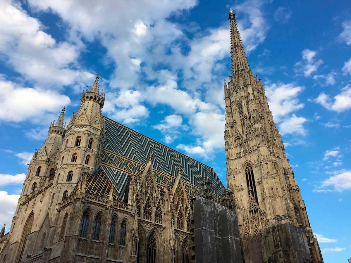 Собор святого Карла в Вене. австрия