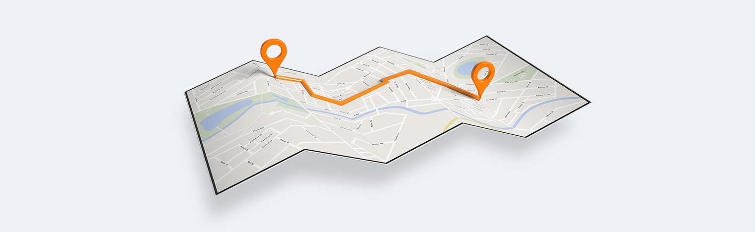 спланированный маршрут без навигатора
