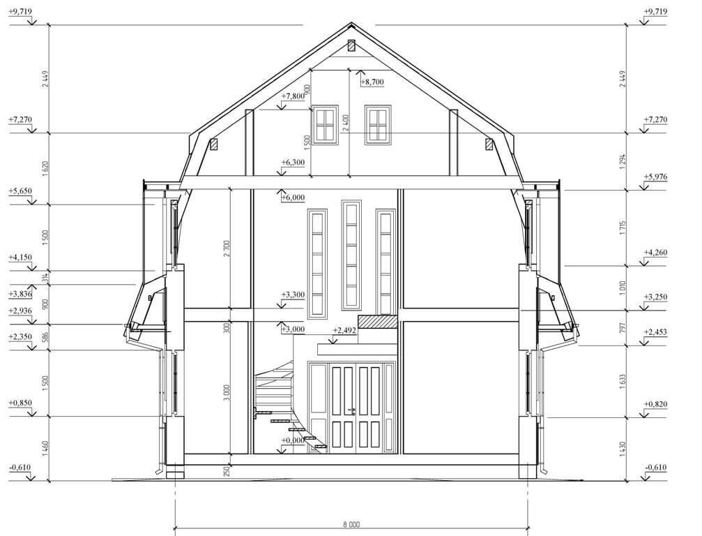 чертеж дома и его реализация картинка достоинство фрикаделек для