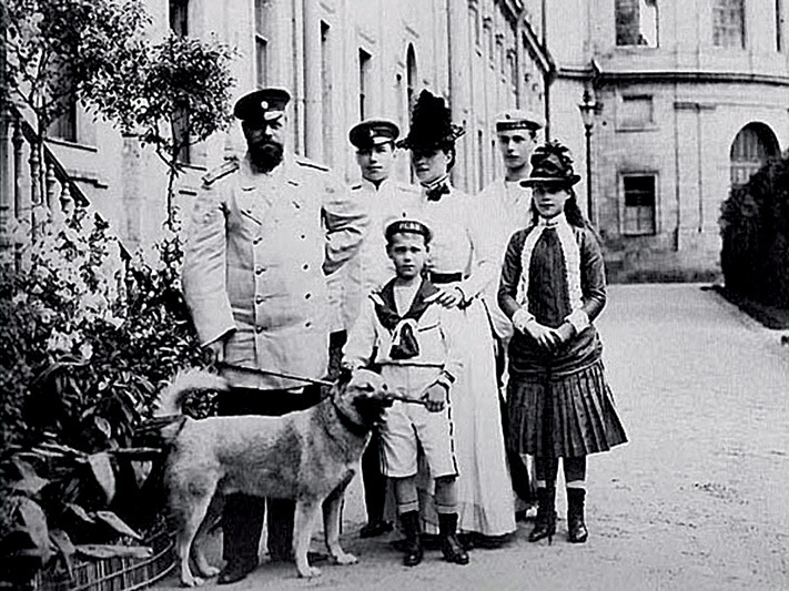 Лайка Камчатка была любимой собакой императора Александра III