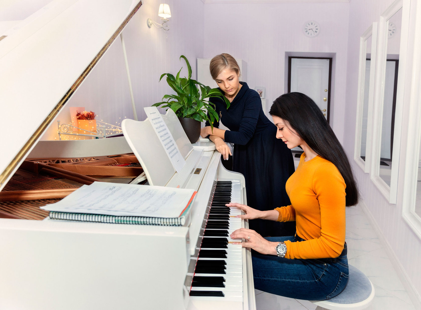 при фортепиано обучение в картинках этом