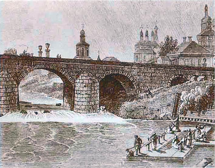 Ваньку Каина посвятили в воры подБольшим Каменным мостом