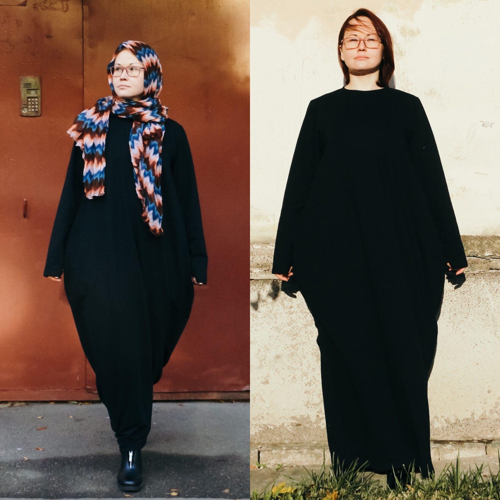 Купить мусульманское платье большого размера