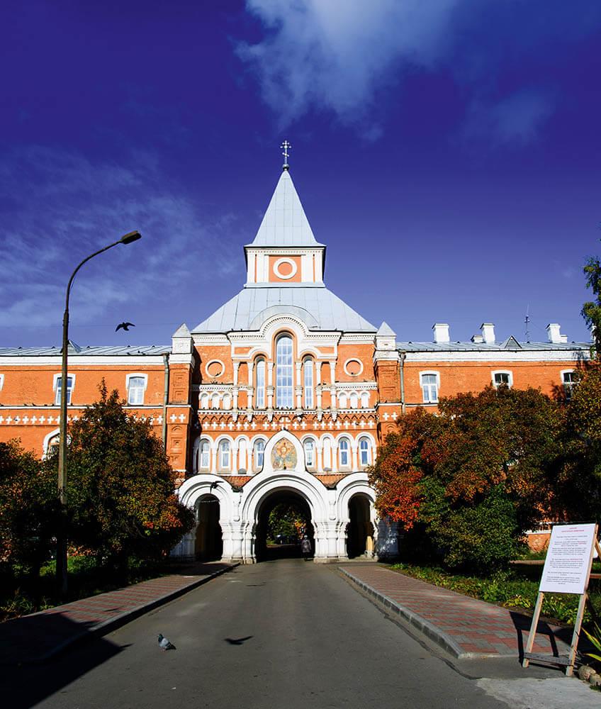 Сергиев мужской монастырь вСтрельне