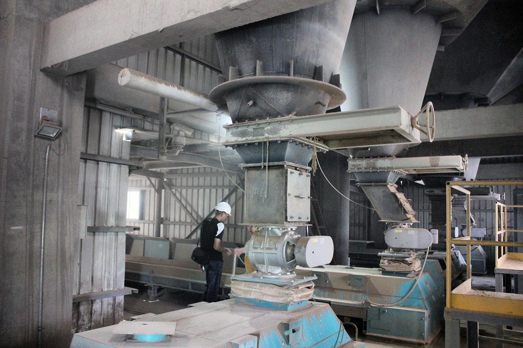 переработка цемента