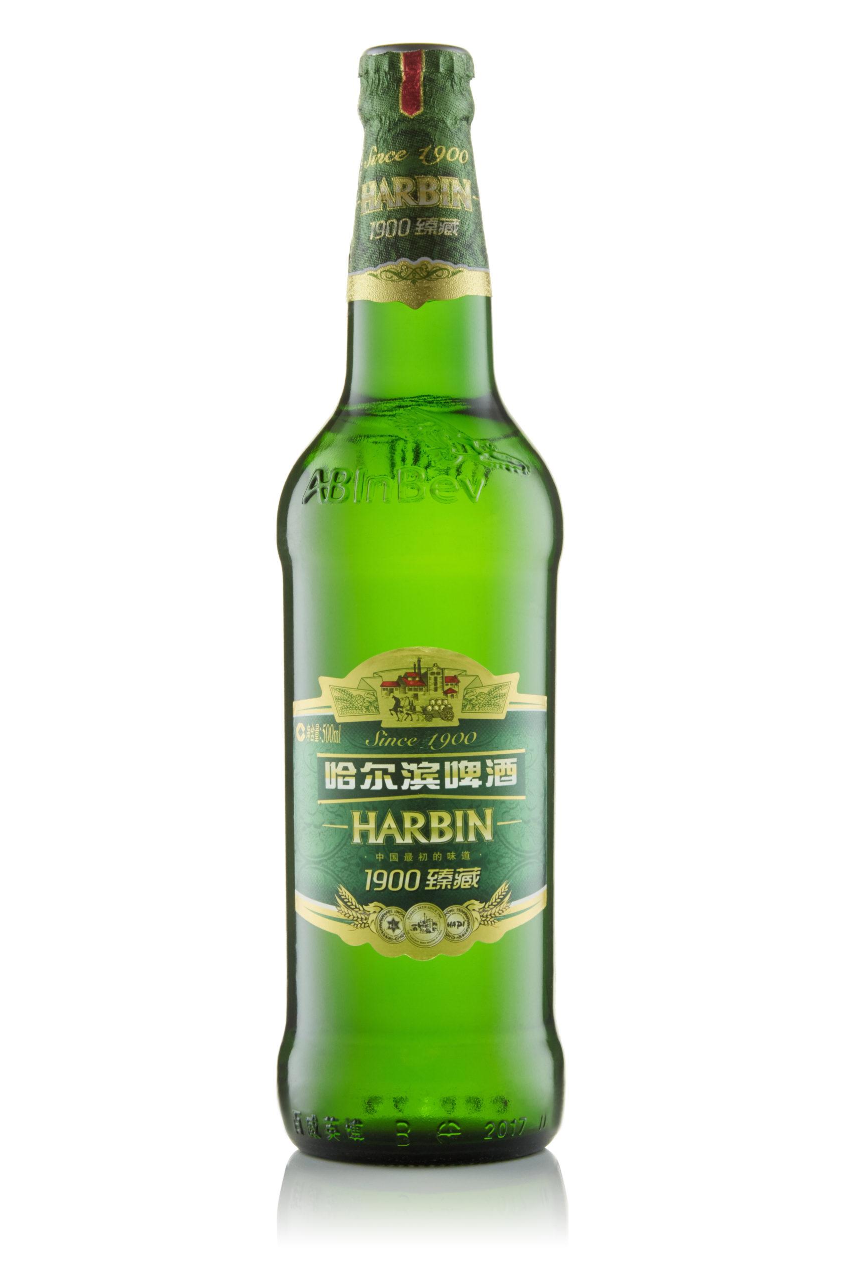 Купить пиво оптом Харбин 1900 500 мл ст/б