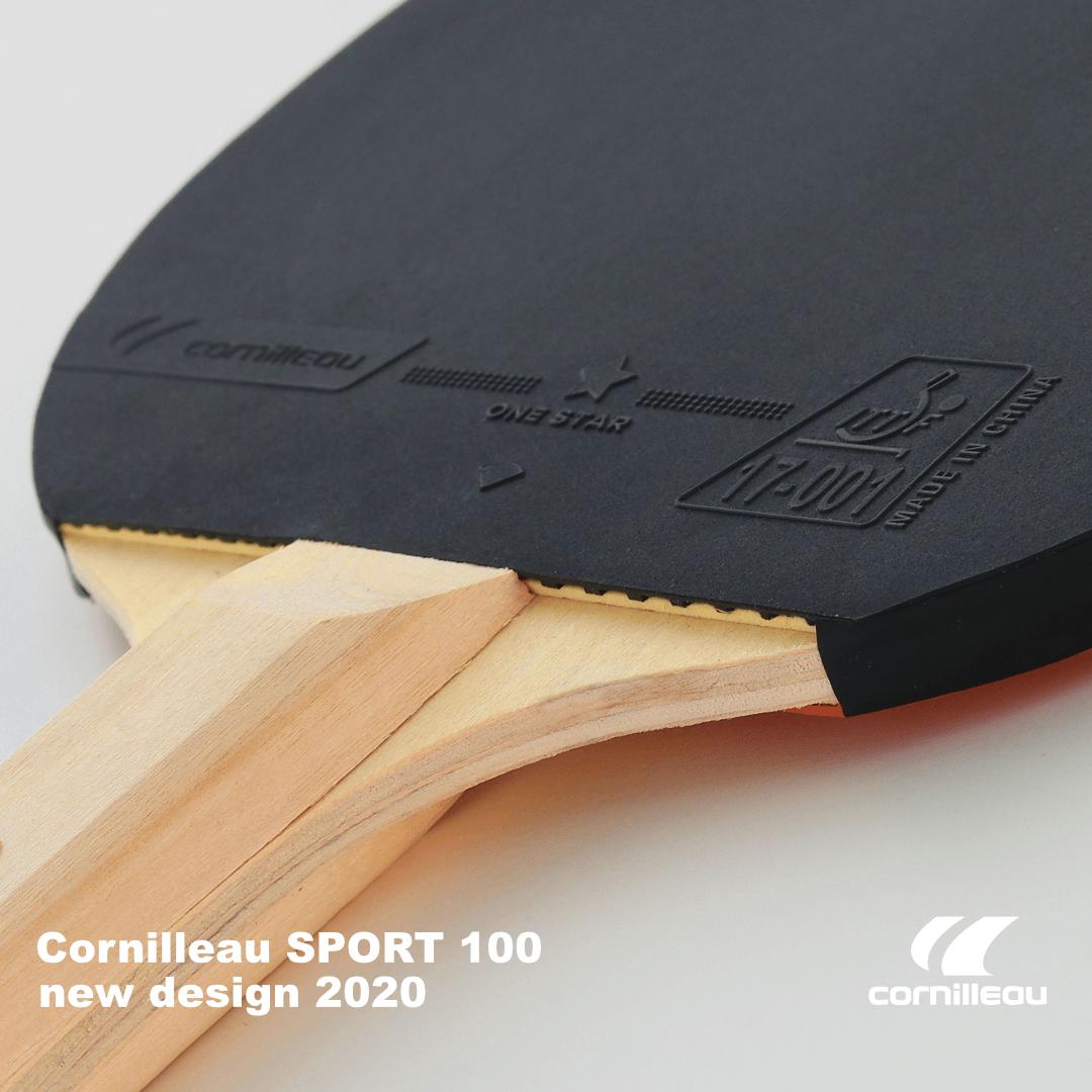 Ракетка для настольного тенниса Cornilleau Sport 100 обновление 2020