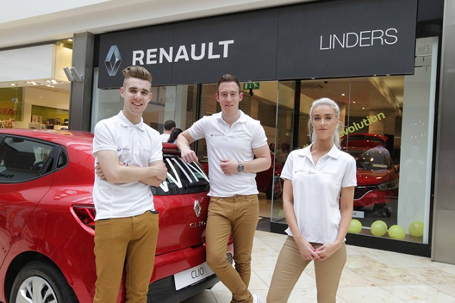 Renault Linders virtual showroom