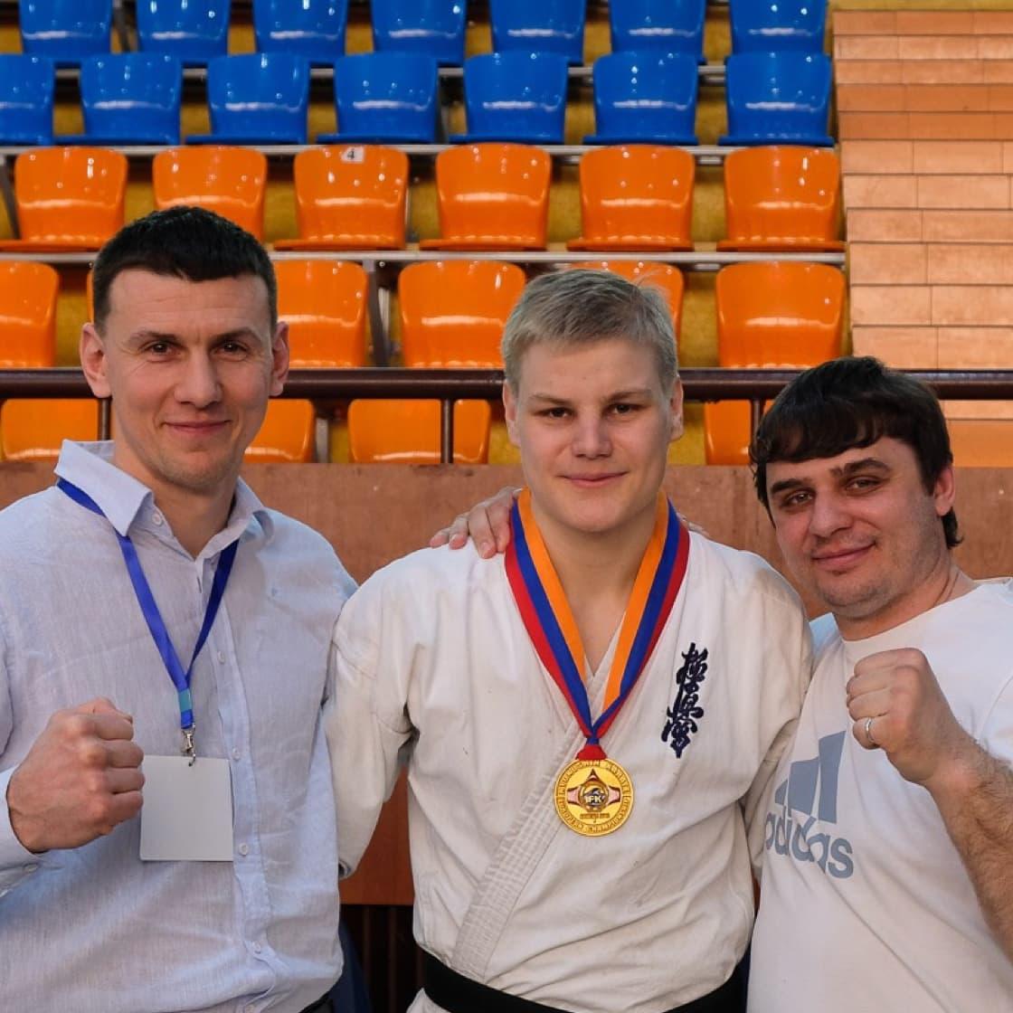 Russian kyokushin coaches