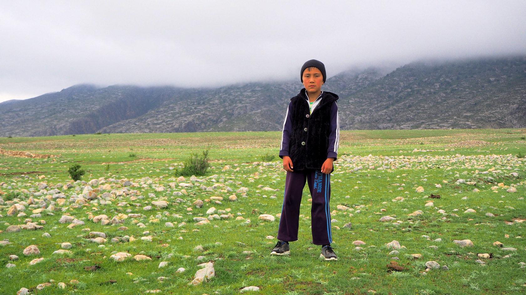 Кыргызский ребенок