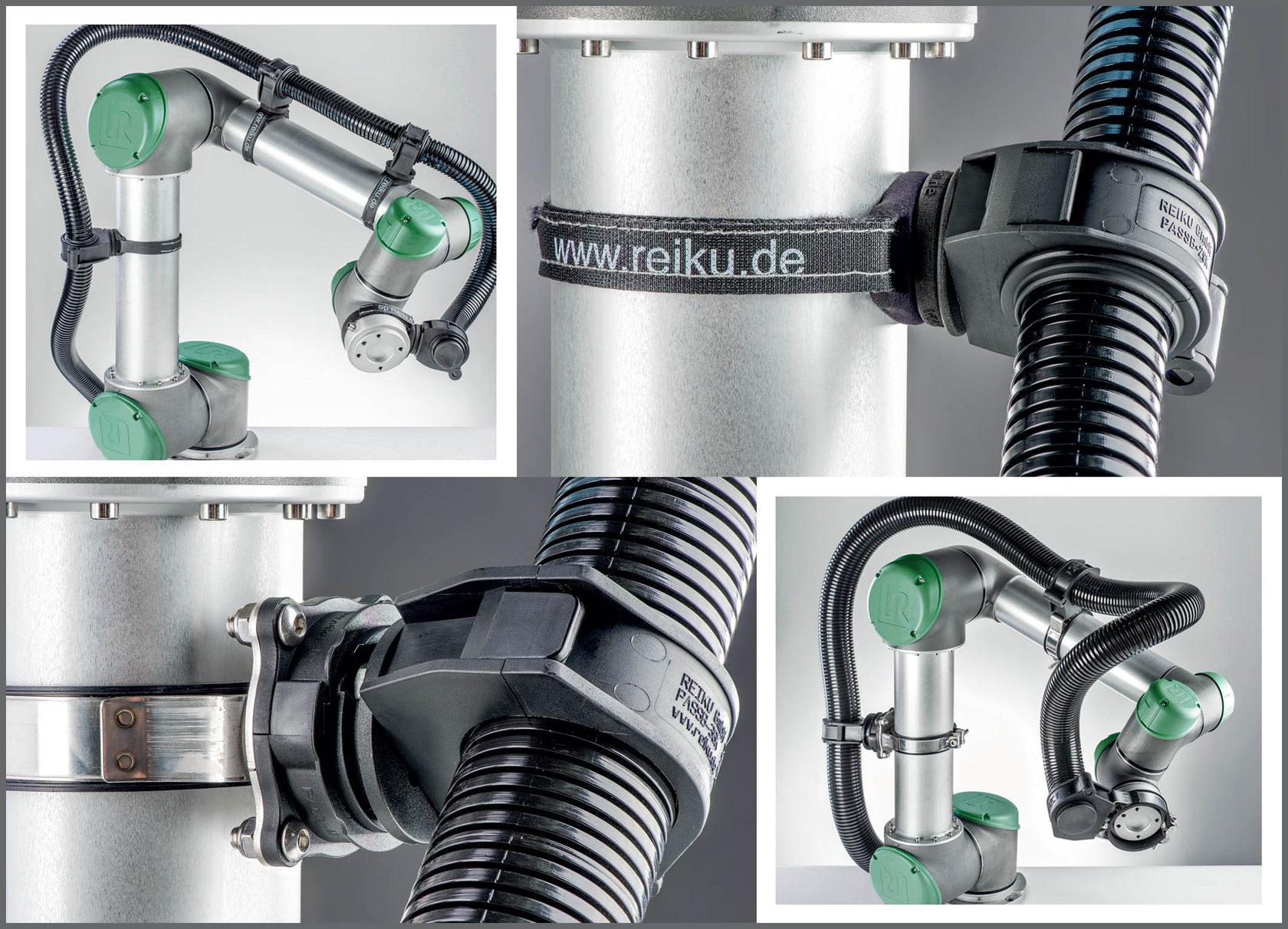 система защиты кабеля для роботов