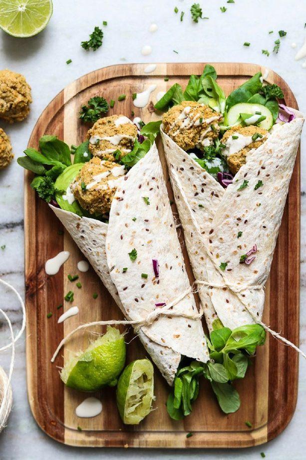 рецепт вегетарианской шаурмы