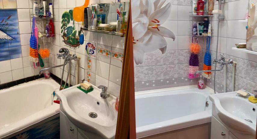 Косметический ремонт ванны в СПб