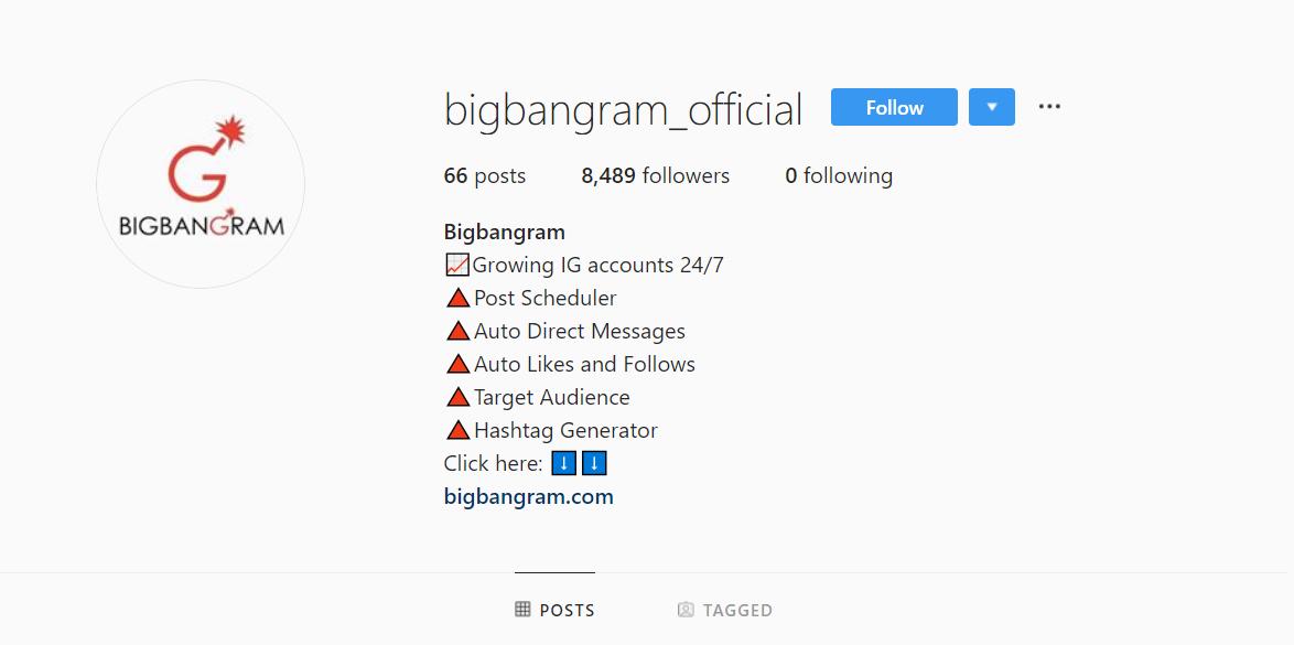 bigbangram official instagram account
