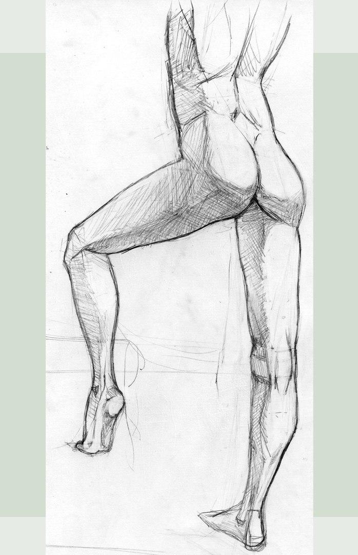 Мужские ноги рисунок мэахэль