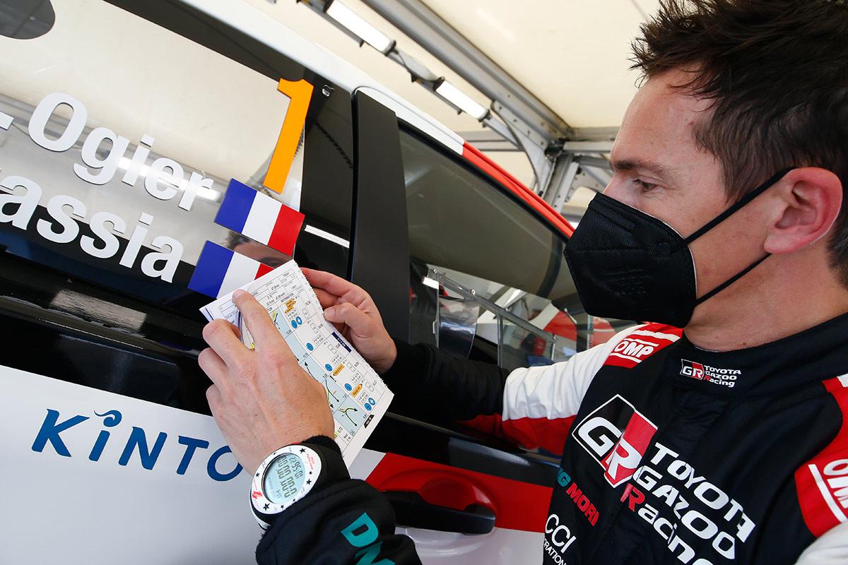 Жюльен Инграссиа, Toyota Yaris WRC, ралли Хорватия 2021