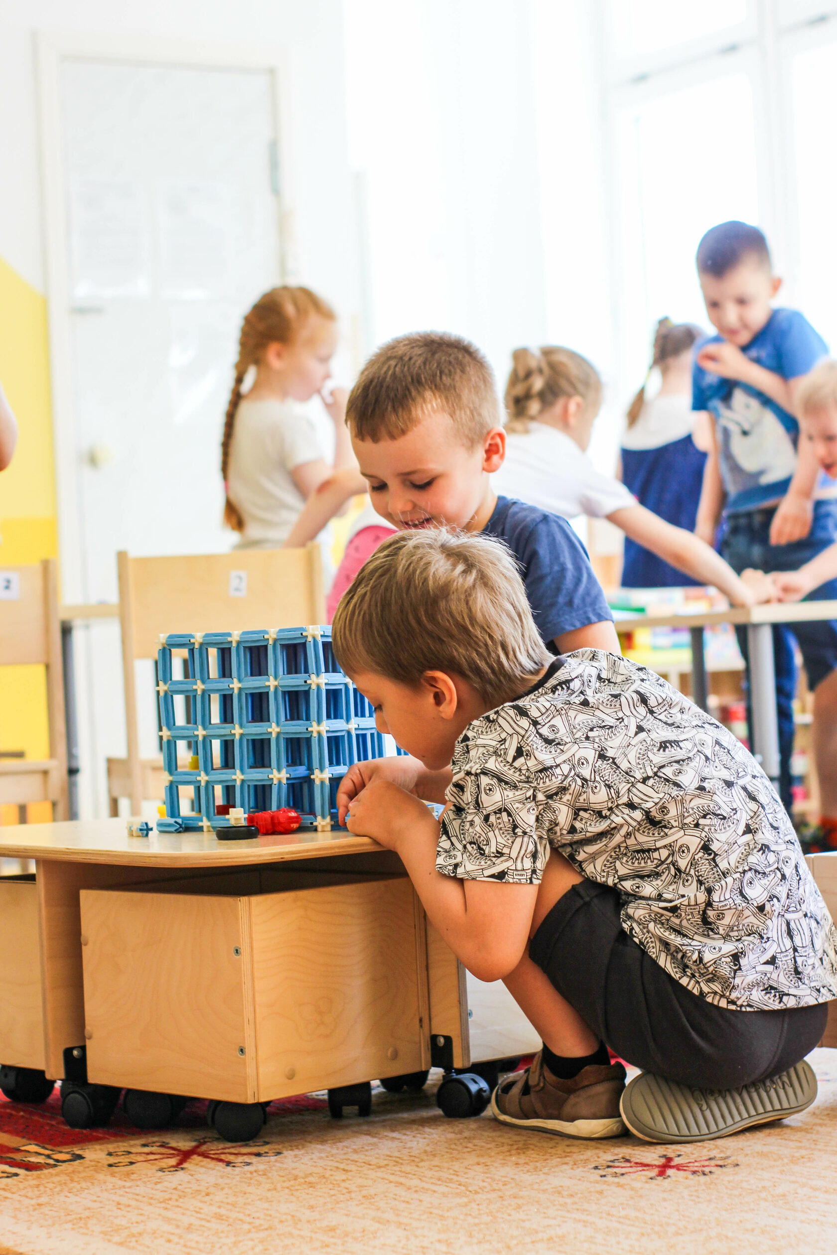 дизайн оформления детского сада