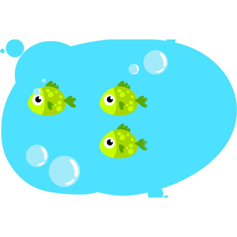 Задача на движение по течению реки с рыбками