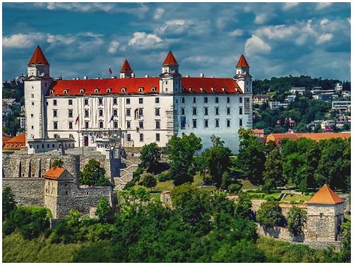 Братислава в августе