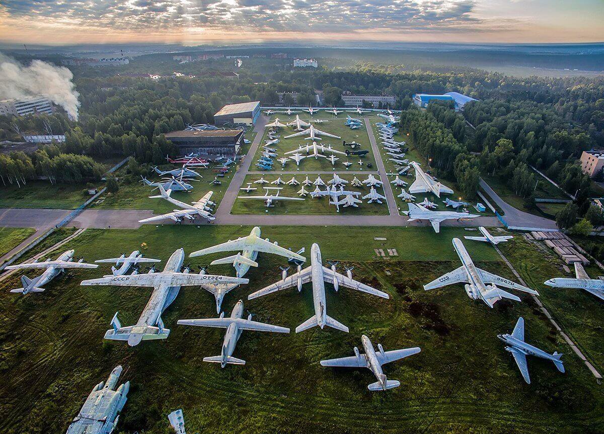 Музей авиации Монино