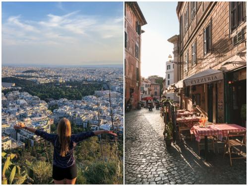 Рим и Афины в ноябре