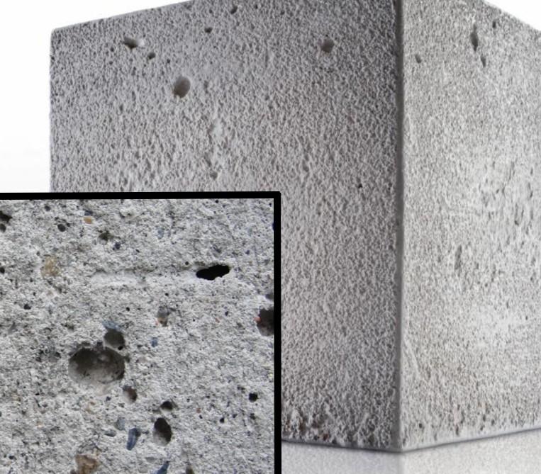 бетон дышит