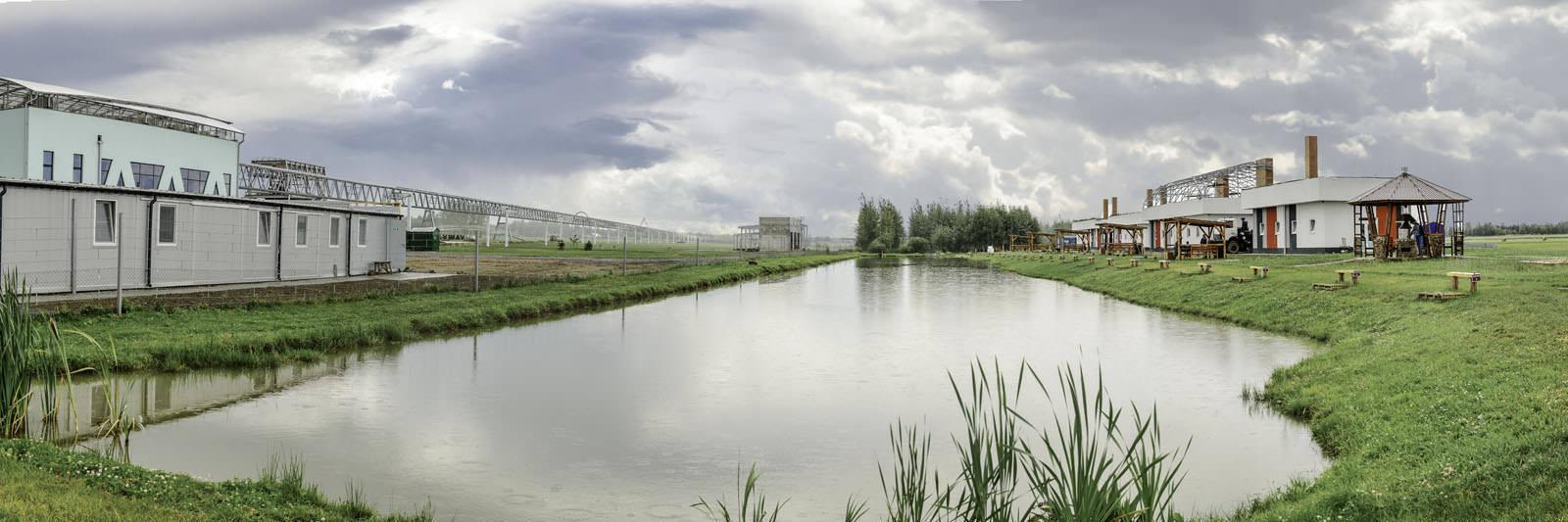 Водоём элитной платной рыбалки на территории Беларуси в КФК «Юницкого»