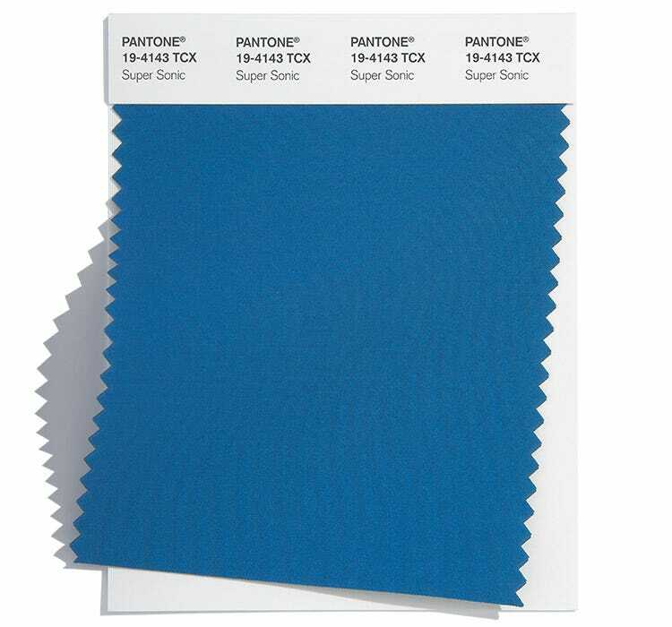 Super Sonic е модерен син цвят за 2022 според Pantone