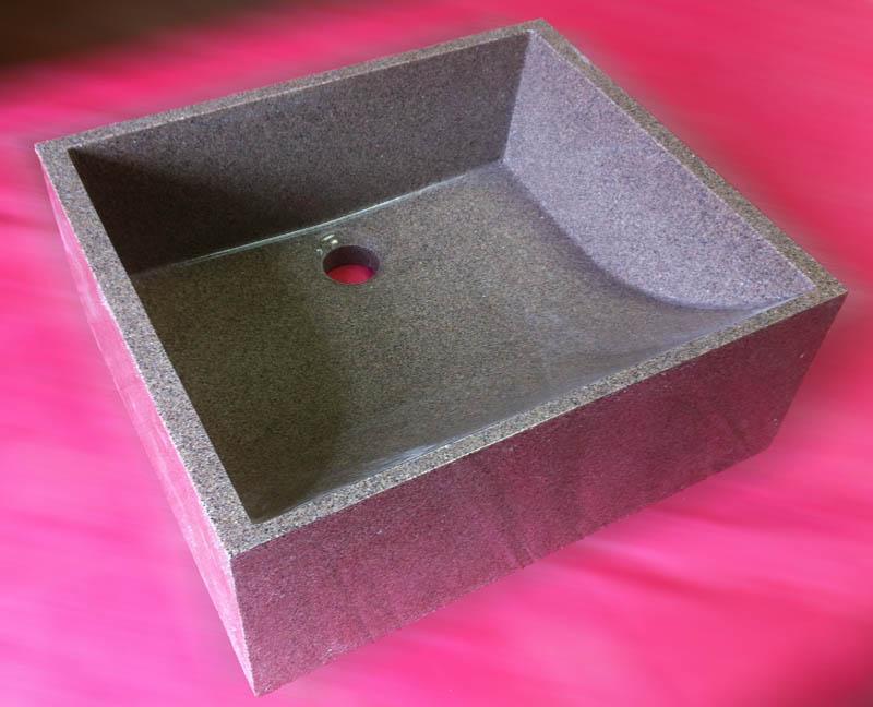 Раковина чаша из искусственного камня