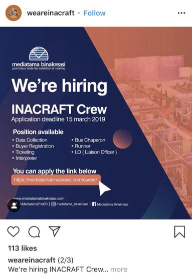 Infographics hiring