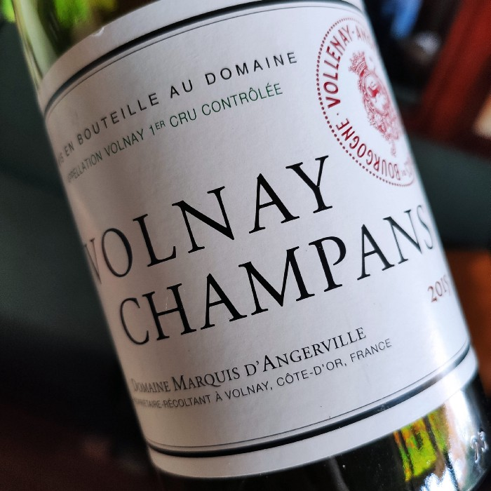 Domaine Marquis d'Angerville Volnay Champans 1er Cru 2015