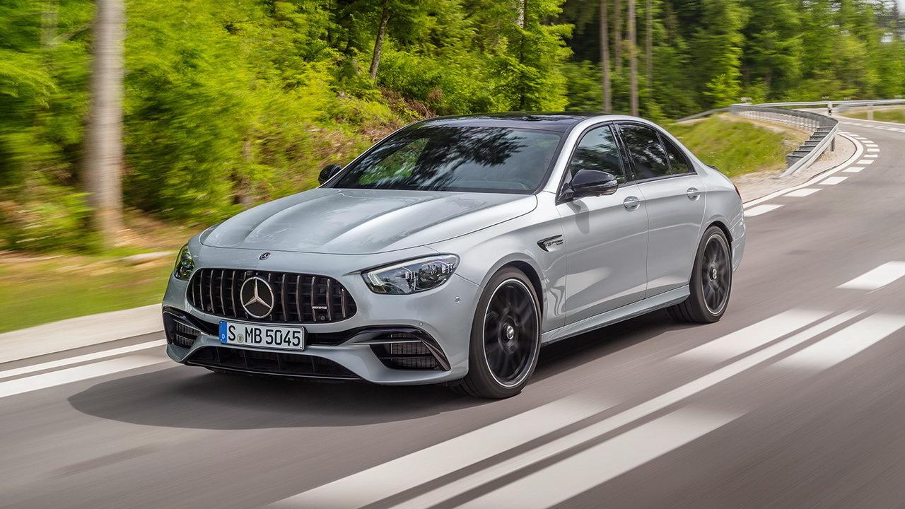 Новый AMG E63s, которому и посвящена эта статья.