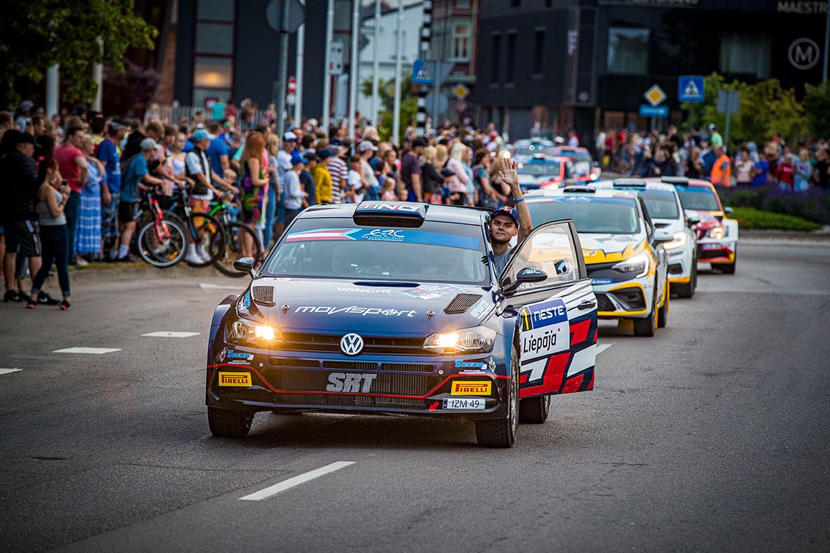 Николай Грязин и Константин Александров, VW Polo GTI R5, ралли Лиепая 2021
