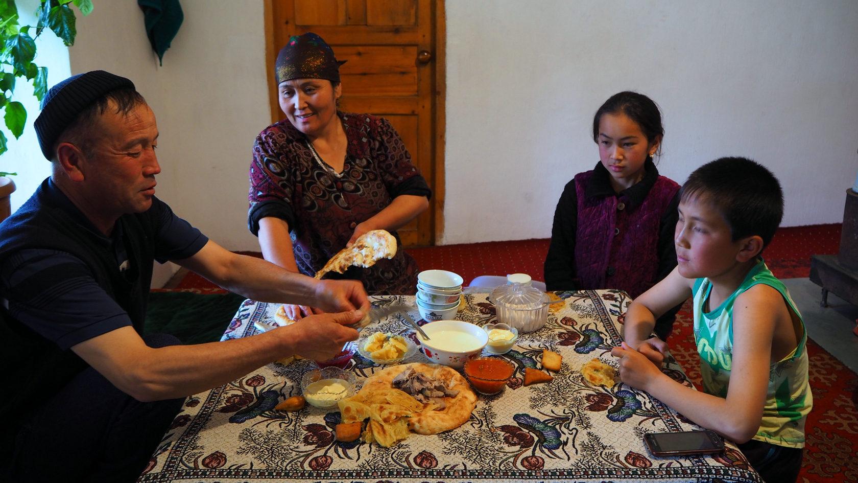кыргызская семья