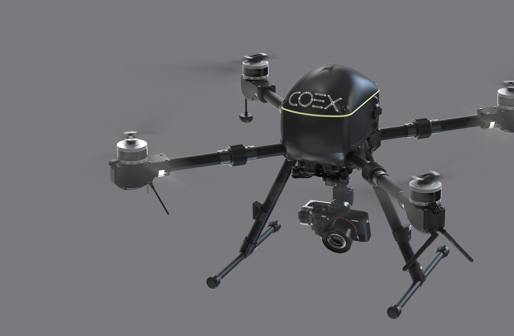 COEX Pelican — Autonomous Drone for Monitoring and Delivery
