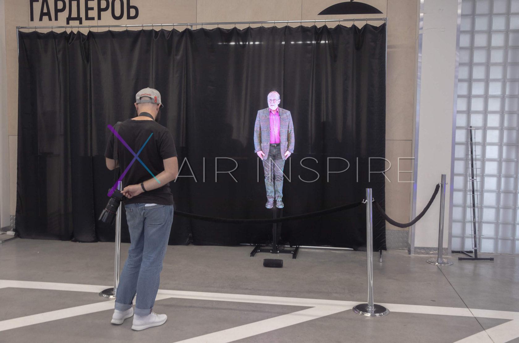 Голографические 3D вентиляторы в профессиональной компании