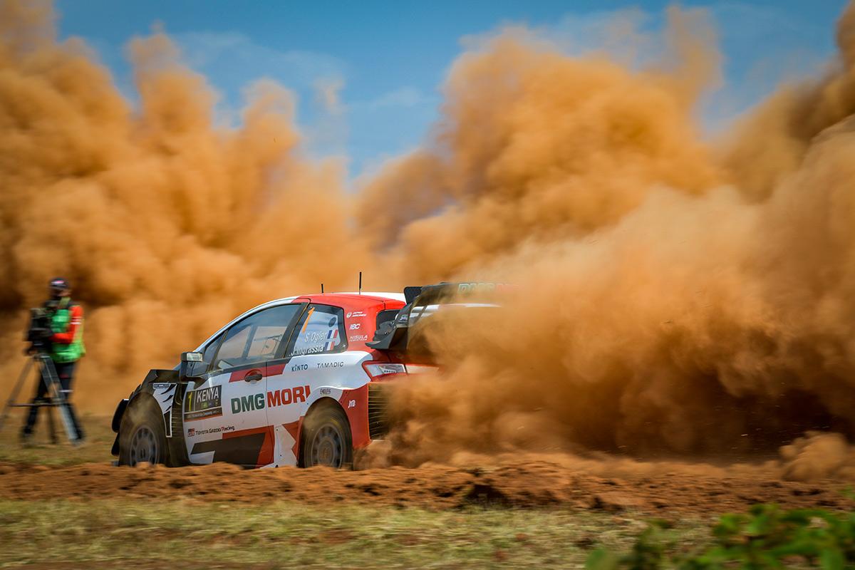 Себастьен Ожье и Жюльен Инграссиа, Toyota Yaris WRC, ралли Сафари 2021