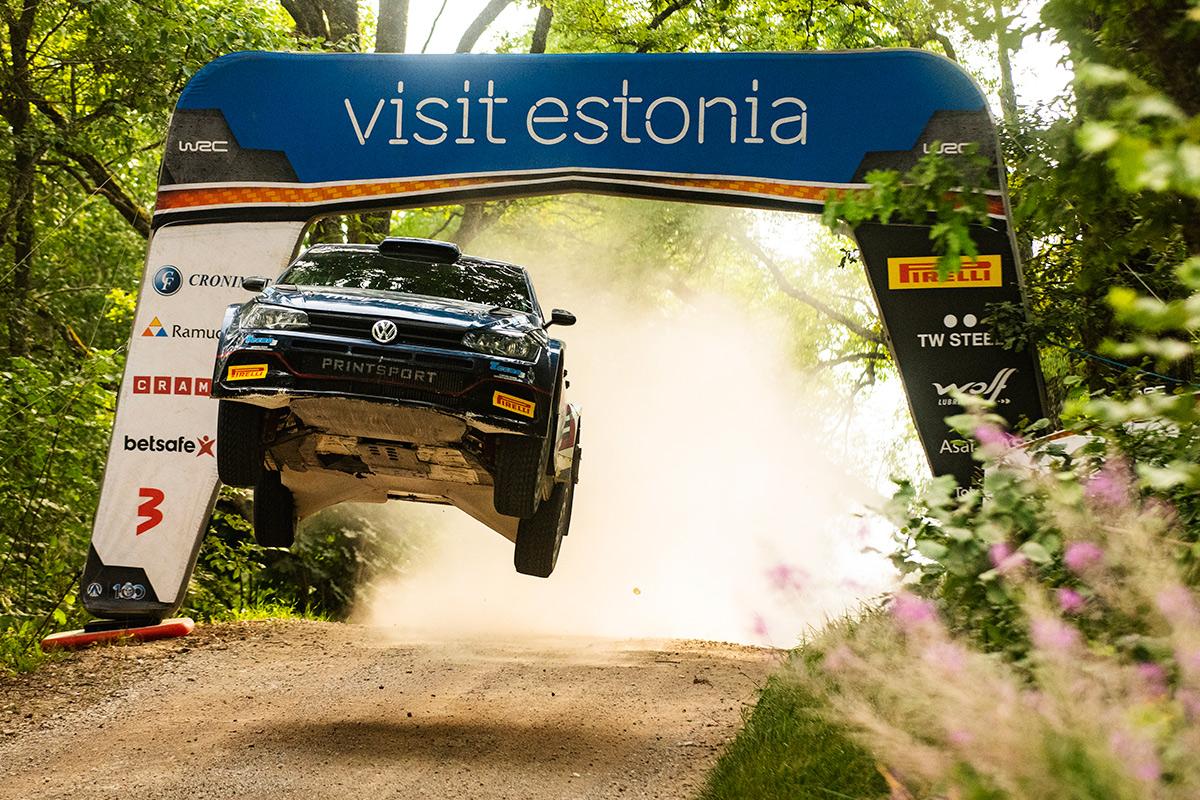 Николай Грязин и Константин Александров, Volkswagen Polo GTI R5, ралли Эстония 2021