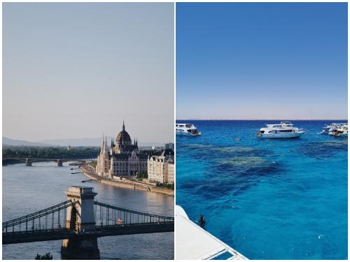 Будапешт и Хургада в феврале