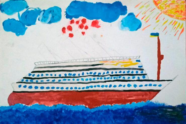 Второе место в конкурсе рисунка от Партии Шария в Херсоне - фото