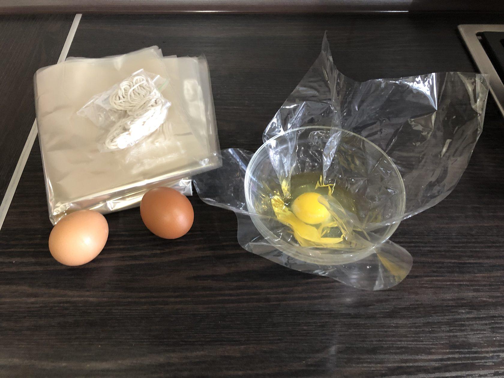 рецепт яиц в целлюлозной пленке