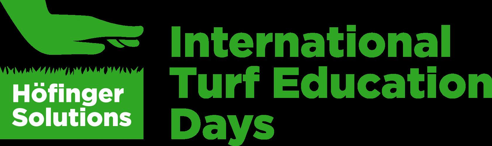 INTERNATIONAL TURF EDUCATION DAYS