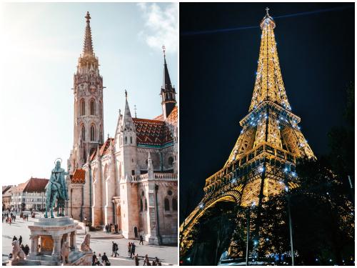 Будапешт и Париж в октябре