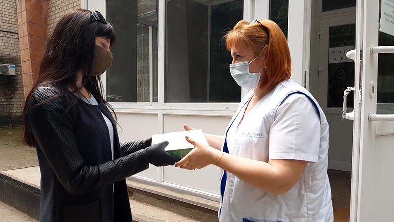 Партия Шария помогла никопольской больнице - фото