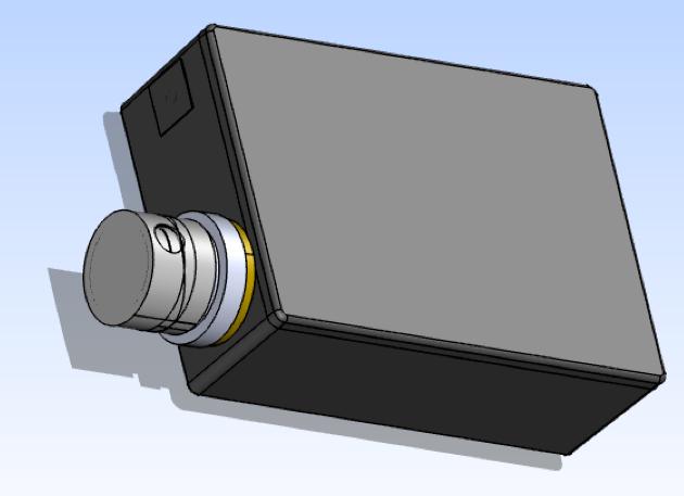 Конструктивный элемент прибора — блок с оптикой. Не подлежит изменению