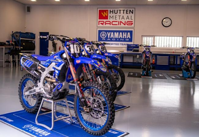 Команда Hutten Metaal Yamaha анонсировала состав гонщиков